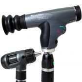 97204-MVPS Welch Allyn PanOptic Prestige set with MacroView Otoscope